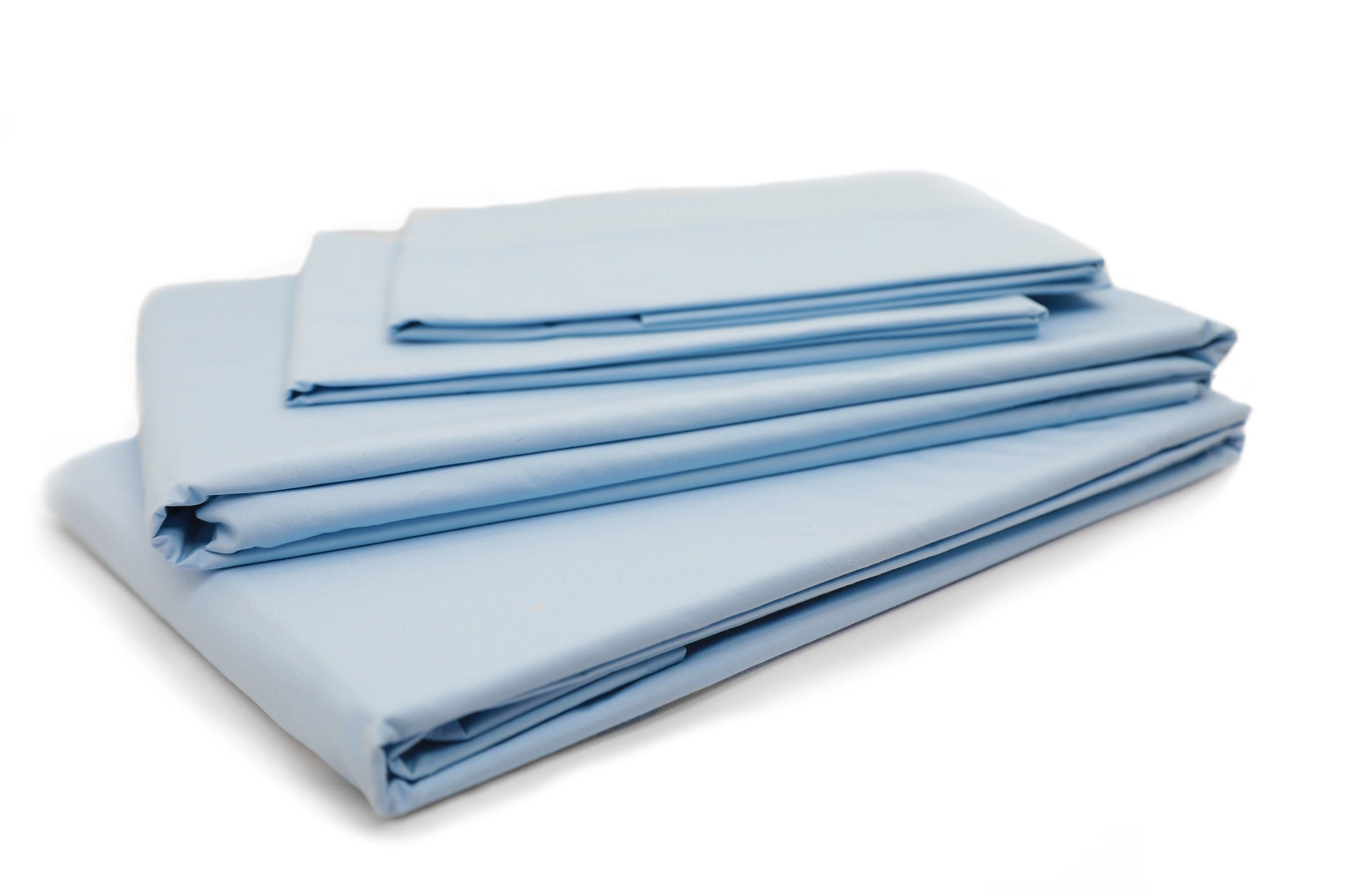 Solid Sky Blue Sheet Set