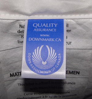 Downmark certified Apluslinen Pillows