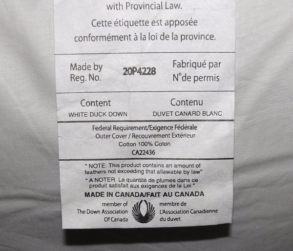 Made in Canada Luxury all-natural pillows from Apluslinen