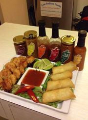 Vegetable Spring Roll & Thai Chicken Cakes