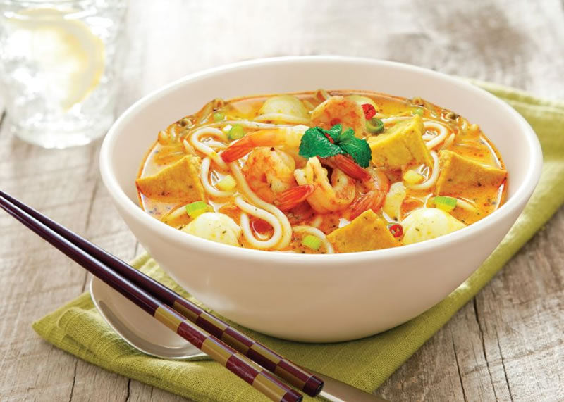 Chicken (or Seafood) Laksa