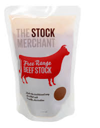 The Stock Merchant Free Range Beef Stock - 500ml - Low Sodium Foods