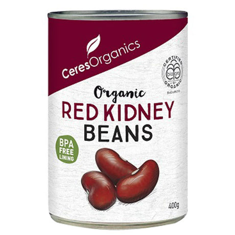Ceres Organics Organic Red Kidney Beans - 400g - Low Sodium Foods