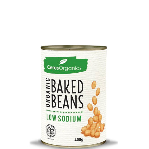 Ceres Organics Baked Beans - Low Sodium - 400gms