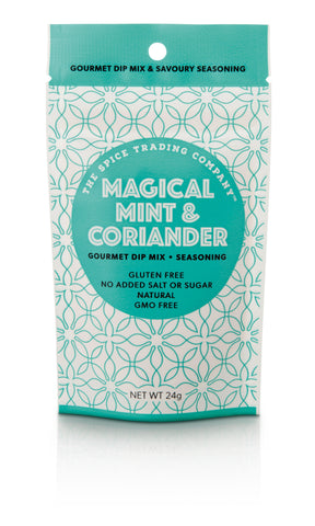 Spice Trading Co Magical Mint & Coriander  Gourmet Dip Mix - 24g - GF - Low Sodium Foods