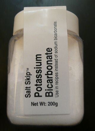 Salt Skip Potassium Bicarbonate 200g - Low Sodium Foods