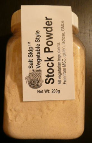 Salt Skip Vegetable Style Stock Powder 200g - Gluten Free - Low Sodium Foods