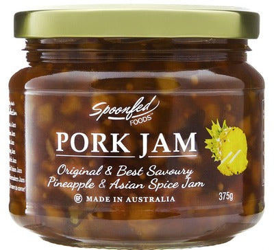 Spoonfed Foods Pork Jam - 375g - Low Sodium Foods