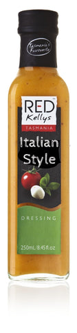 Red Kellys Italian Style Dressing - 250ml. Gluten Free - Low Sodium Foods