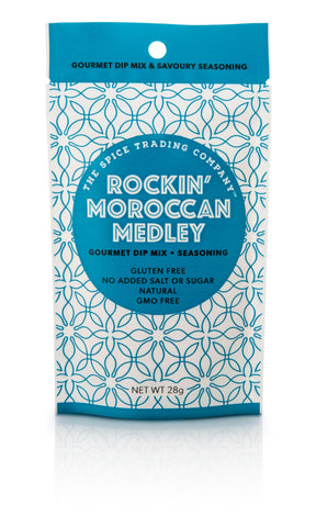 Spice Trading Co Rockin' Moroccan Medley Gourmet Dip Mix - 28g - GF - Low Sodium Foods