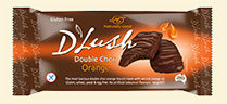 D'Lush Double Choc Orange Biscuits - 150g - Low Sodium Foods