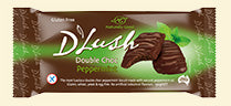 D'Lush Double Choc Peppermint Biscuits - 150g - Low Sodium Foods