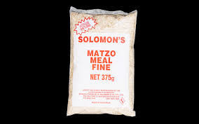 Solomon's Matzo Meal (Crumbs) Fine - 375gms - Low Sodium Foods