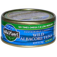 Wild Planet Albacore Tuna Steaks - No Added Salt - 142g - Low Sodium Foods
