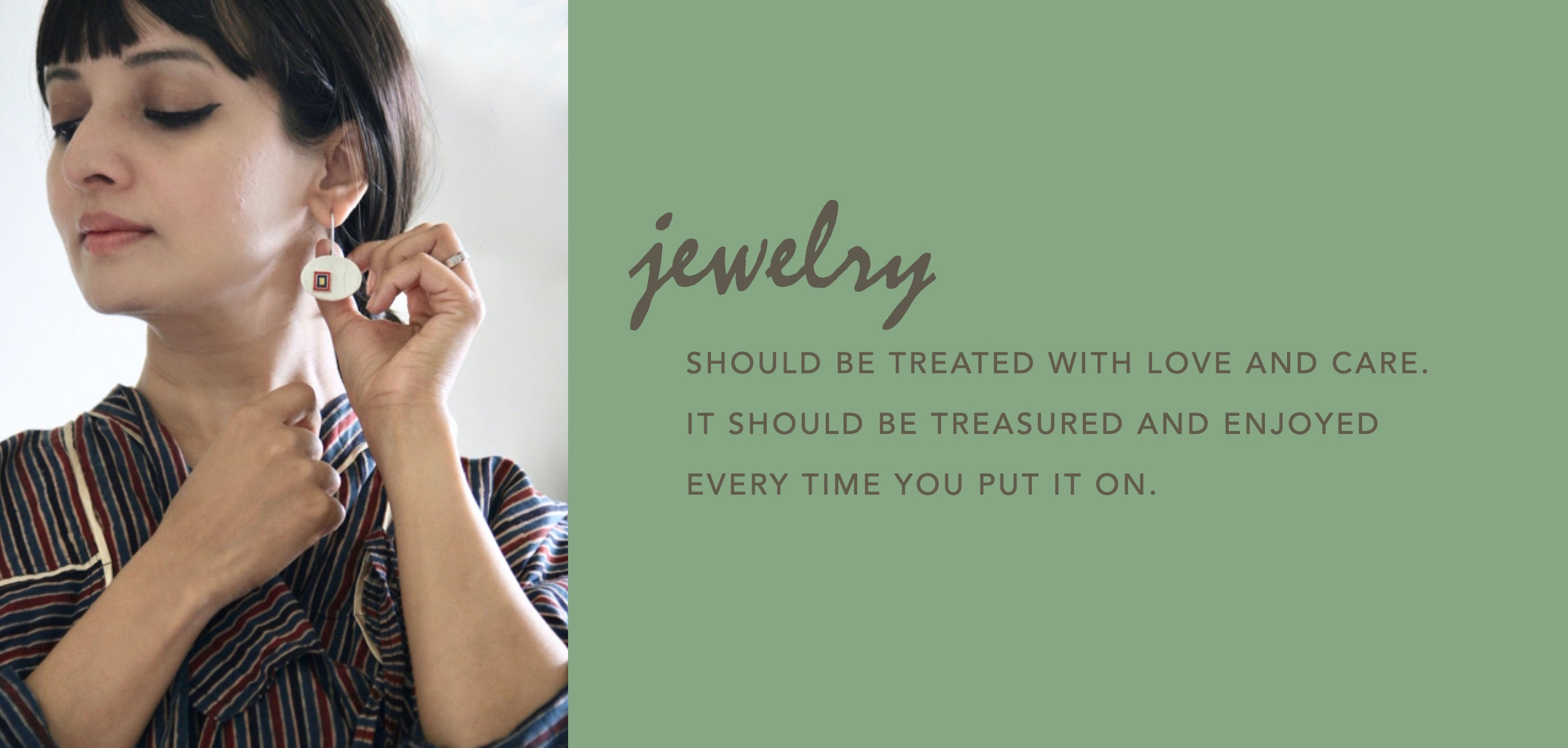 Caring for Lai sterling silver jewelry