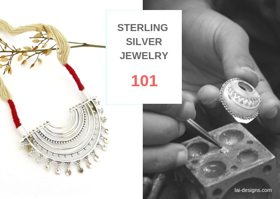 Sterling silver jewelry 101