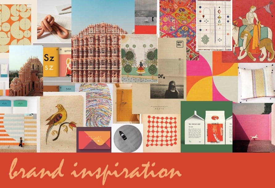 Lai brand inspiration collage