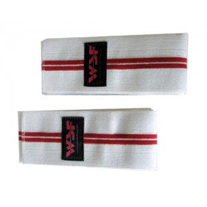 WSF Double Red Line Knee Wraps