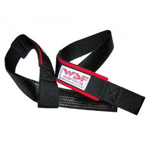 Padded Griptech Rubberized Lifting Straps