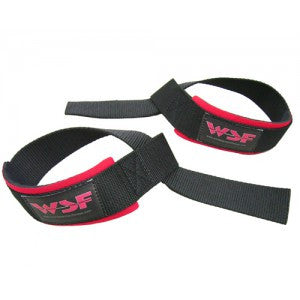 Padded WSF Non-Rubberized Lifting Straps