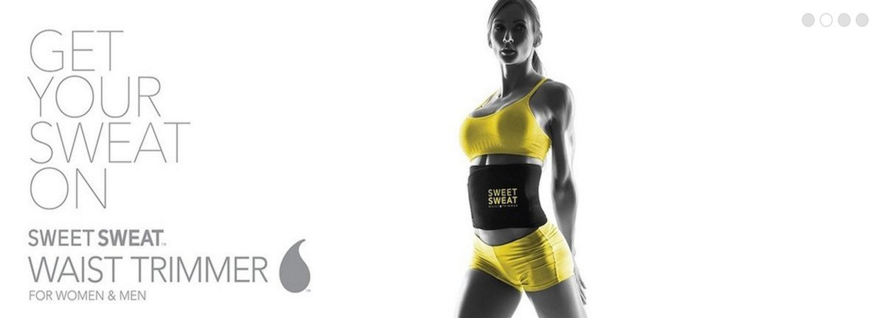 Get Your Sweat On Sweet Sweat Waist Trimmer