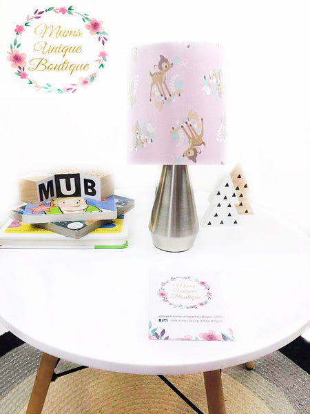 Bambi Pink Touch Lamp Switch Lamp Night Light Table Lamp