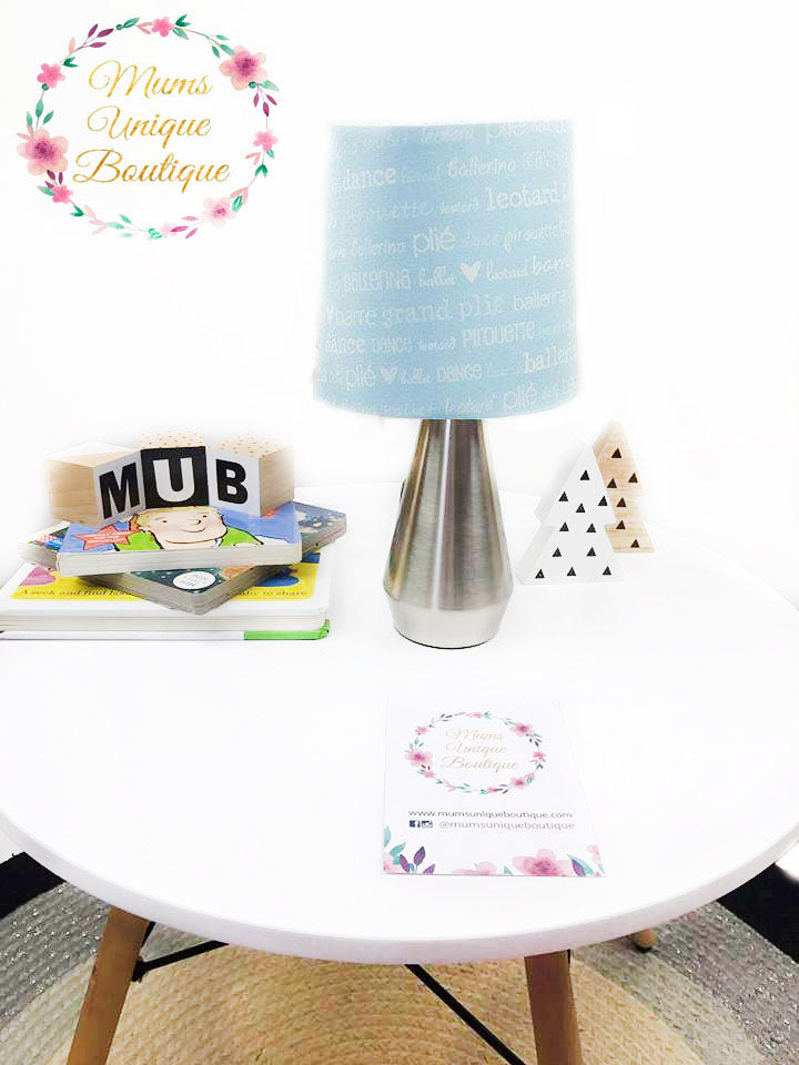 Blue Ballerina Touch Lamp Switch Lamp Night Light Table Lamp