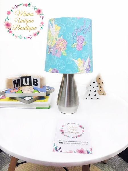 Tinker Bell Petal Perfect Blue Touch Lamp Switch Lamp Night Light Table Lamp