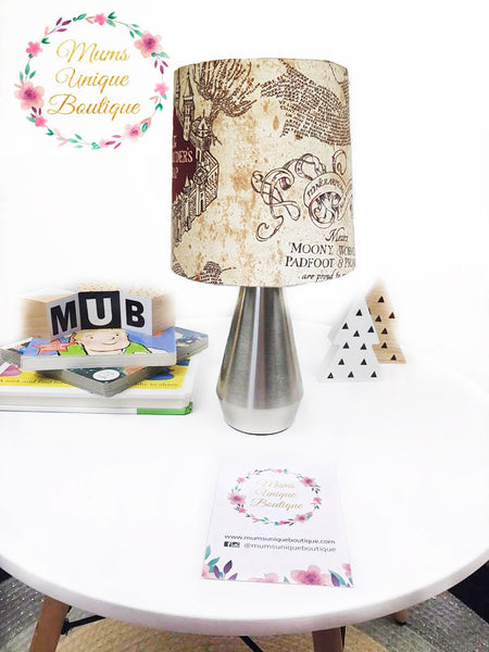 Harry Potter Marauders Map Touch Lamp Switch Lamp Night Light Table Lamp