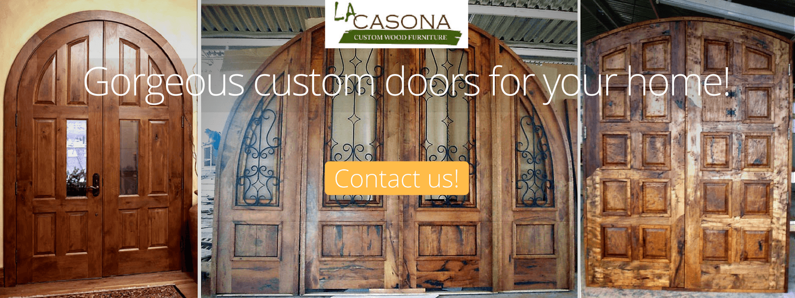 Custom Made Doors and Gates - La Casona Custom Furniture - azcasona.net