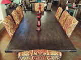 Yugo Alder Rustic Dining Table - La Casona Custom Furniture  - azcasona.net