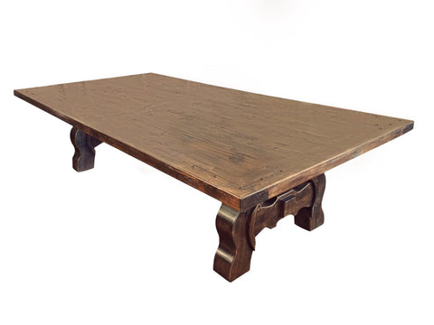 Custom Made Yugo Alder Dining Table - La Casona Custom Furniture - azcasona.net