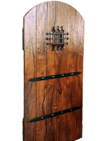 Mesquite Rustic Custom Door 1 - La Casona Custom Furniture  - azcasona.net