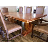 Rope Edge Dining Table Pedestal Base 3