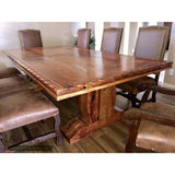 Rope Edge Dining Table Pedestal Base 5