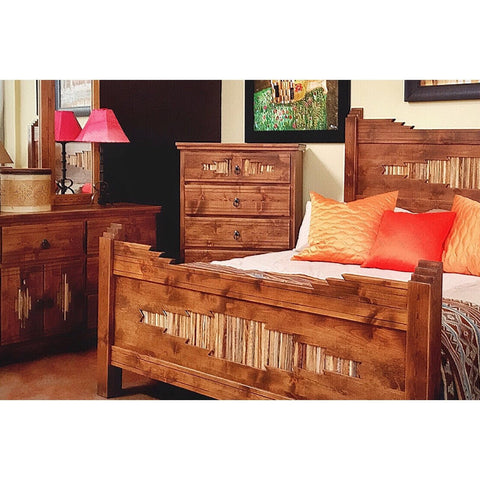 Alder Wood Chest Sahuaro - La Casona Custom Furniture  - azcasona.net