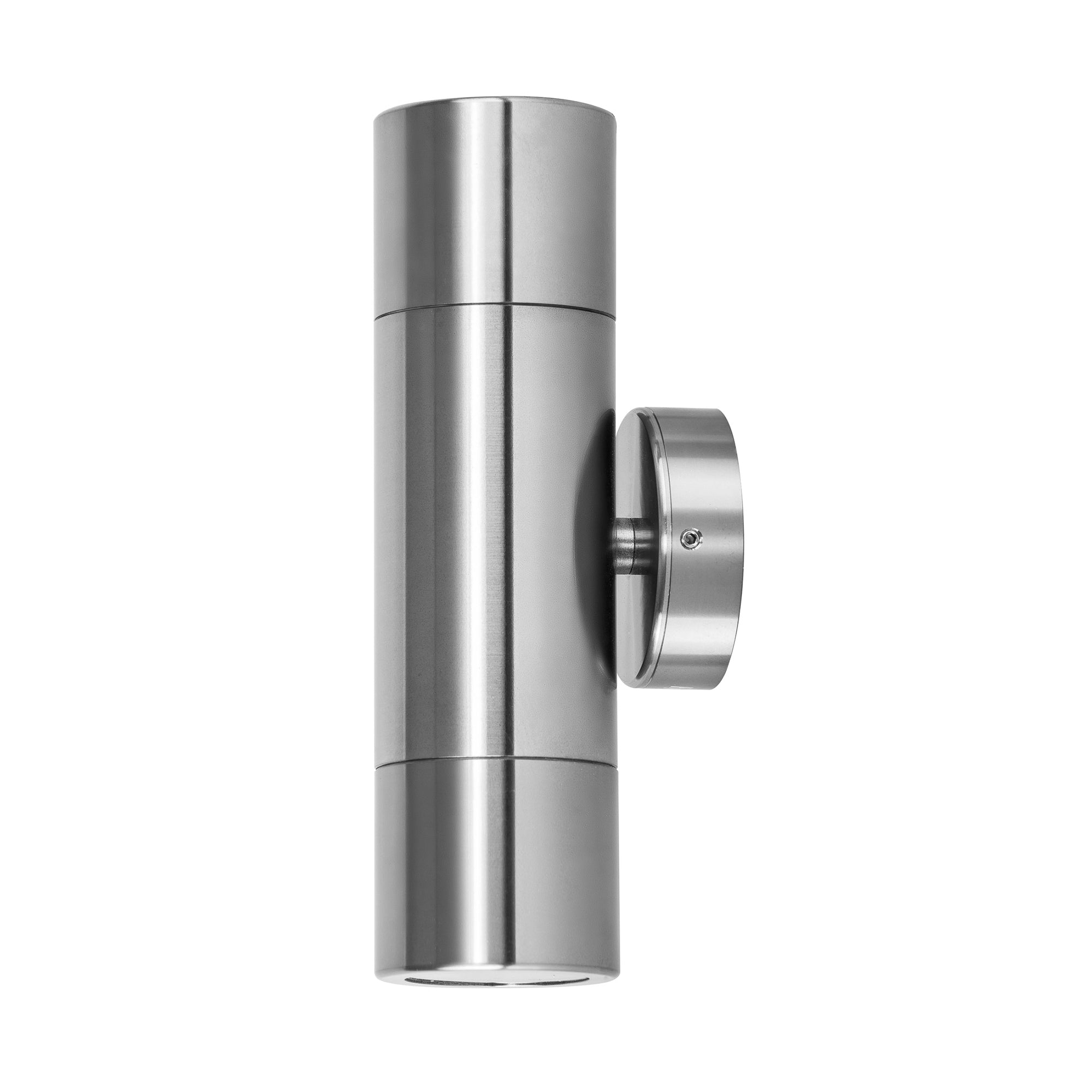 HV1086 - Tivah Titanium Aluminium Up & Down Wall Pillar Lights