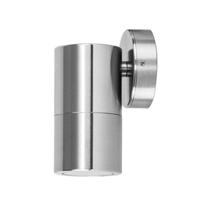 HV1186 - Tivah Series 1 Titanium Aluminium Fixed Down Wall Pillar Lights