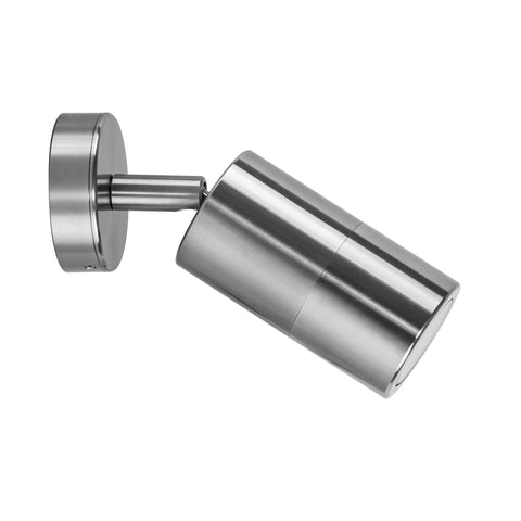 HV1286-1287 - Tivah Series 1 Titanium Aluminium Single Adjustable Wall Pillar Lights