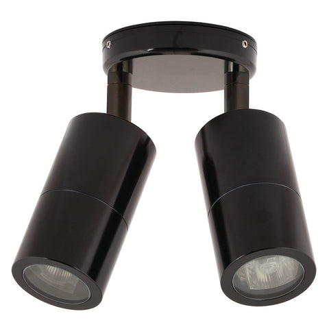 HV1376 - Tivah Black Double Adjustable Spot Lights