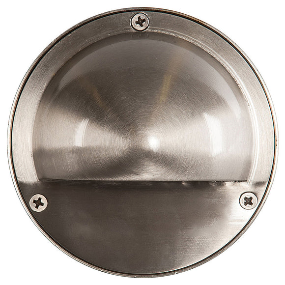 HV2901-HV2904 - 316 Stainless Steel Round Surface Mounted Steplight with Eyelid