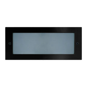 HV3003-BLK - Black LED Brick Light with Plain Face