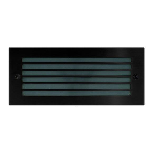 HV3004-BLK - Black LED Brick Light with Grill Face