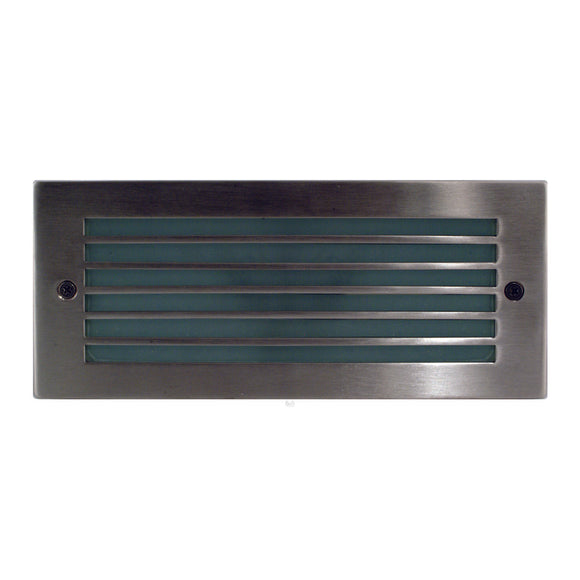 HV3004 - 316 Stainless Steel LED Brick Light with Grill Face