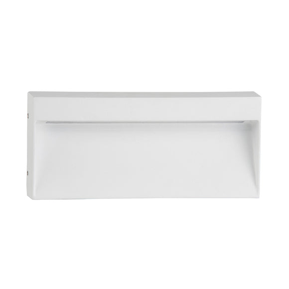 HV3275-WHT-240V - Virsma White Rectangle LED Step lights