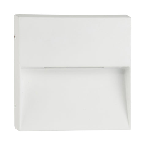HV3276-WHT-240V - Virsma White Rectangle LED Step lights