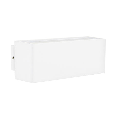 HV3639W-WHT - Blokk - White Up & Down LED Wall Light