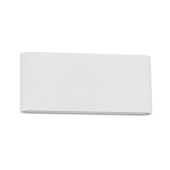HV3643-WHT - LISSE White Fixed Down LED Wall Light