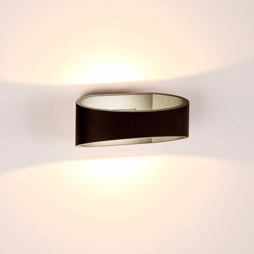 HV3661-BLK - LUXE Black Up & Down LED Wall Light