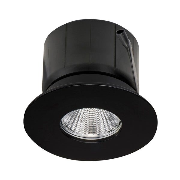 HV5511W-BLK - Black Fixed Recessed Downlight
